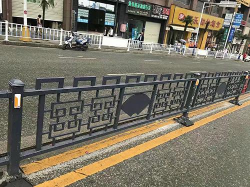 奉化铁艺道路护栏